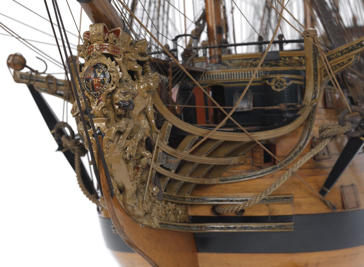 Victory (1737); Warship; First rate; 100 guns – National Maritime Museum