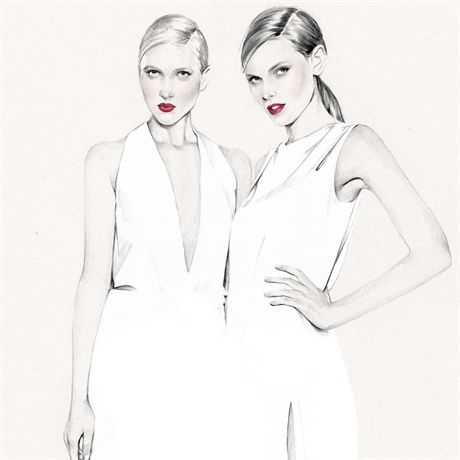 Kelly Smith -Fashion Illustrations; Top Artist and Illustrators – Trends, Craze Art