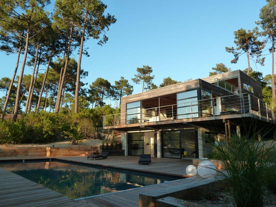 Check out this awesome listing on Airbnb Villa Mogador Cap Ferret