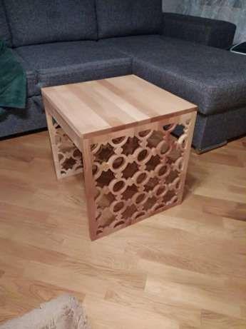 ławy drewniane
