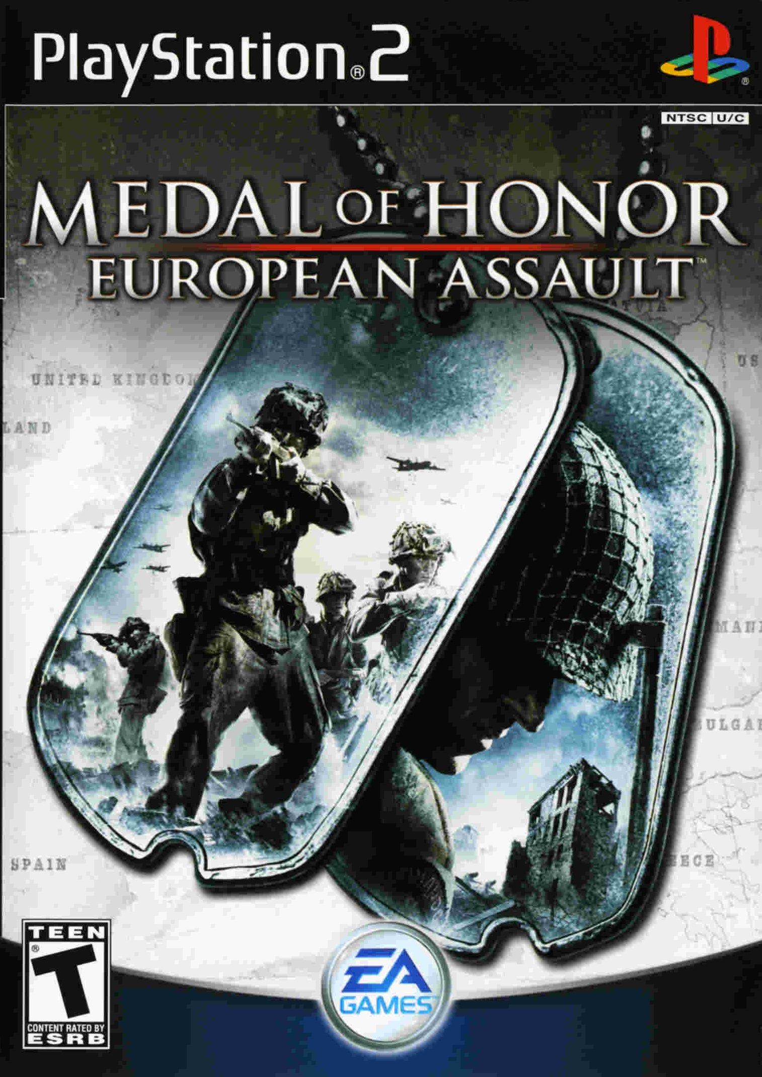 Medal Of Honor European Assault Ps2 Medal Of Honor Gamecube Games Ps2 Games