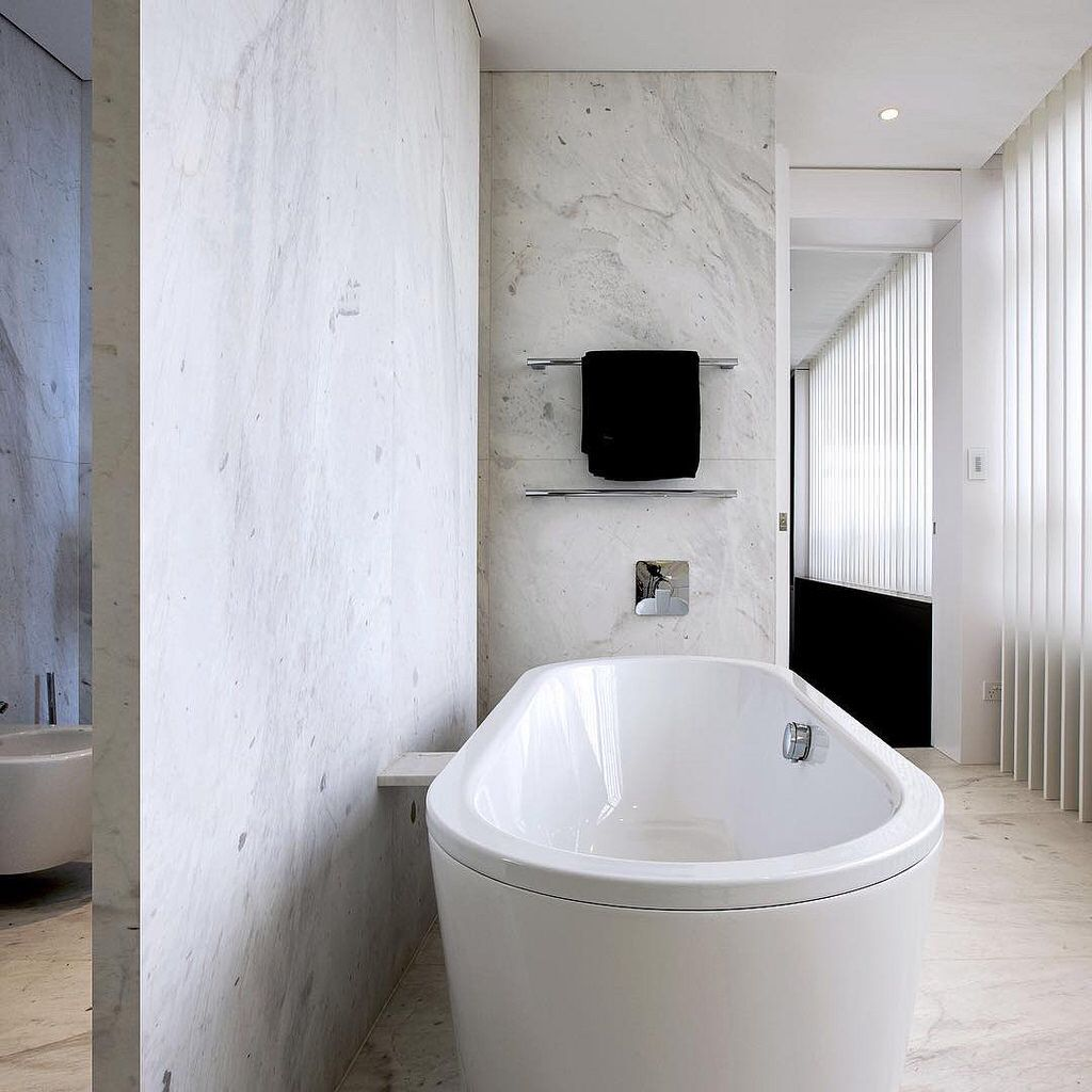 Stunning Elba White bathroom designed by @x.pace in Sydney, and ...