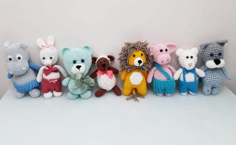 Como fazer amigurumi de crochê para iniciantes #amigurumi #croche ... | 477x775