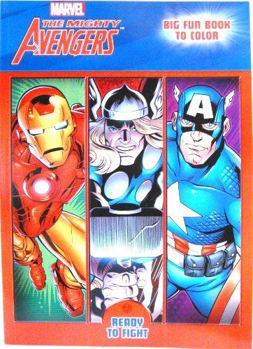 The Mighty Avengers C By Dalmatian Press 7 99 Coloring Book Coloring Book Coloring Books Game Art Painting Supplies