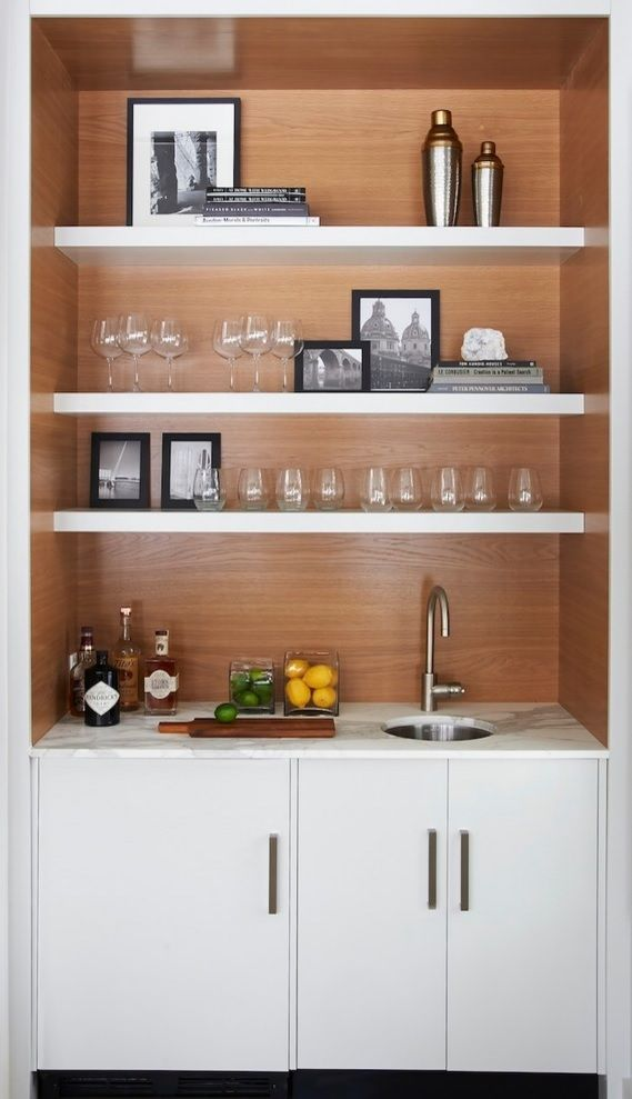 Dry Bar Idea Of Course Without The Sink Home Wet Bar Modern Home Bar Home Bar Designs