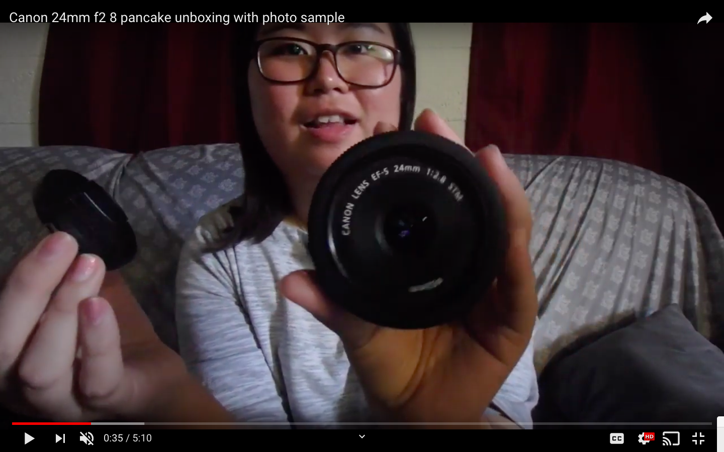 Canon 24mm F2 8 Pancake Unboxing With Photo Sample 24mm Canon 24mm Lens Canon