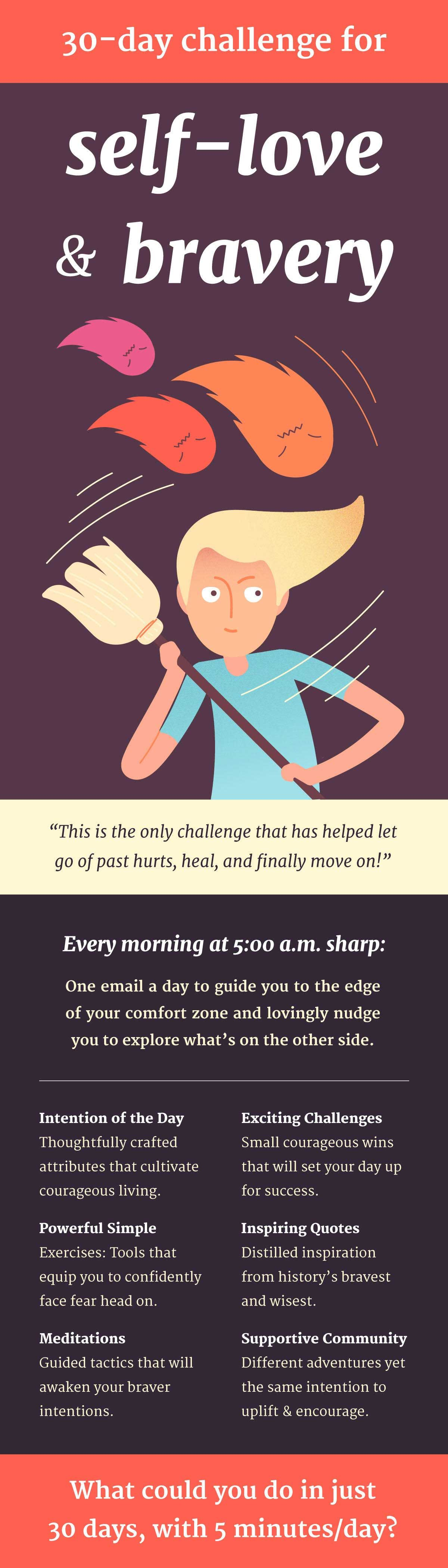 30 Days Of Brave Challenge Sign Up For Free