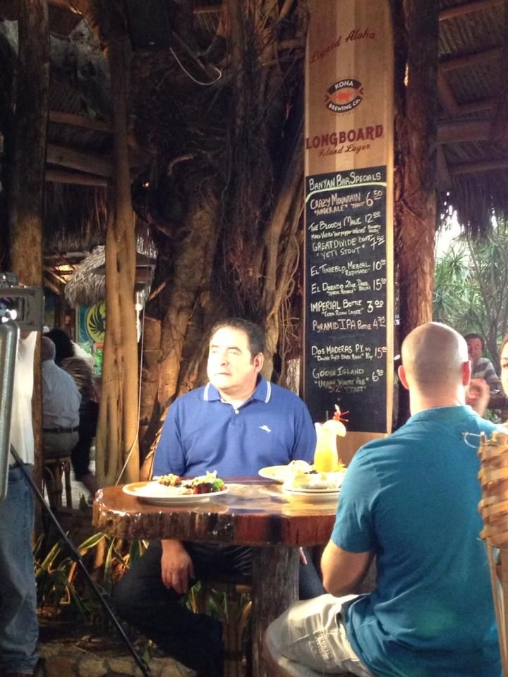 Emeril Lagasse Taping His Palm Beach Episode Of Florida Fresh