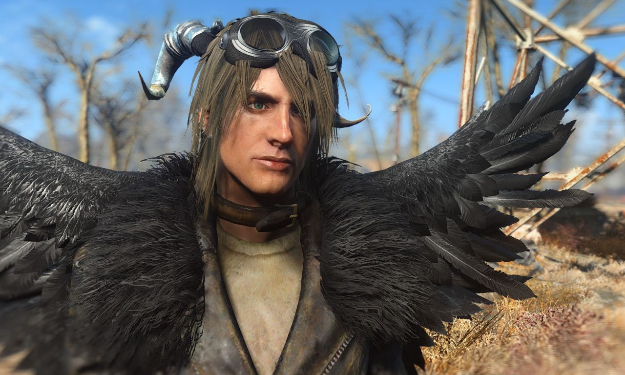 Fallout 4 Mods: MiscHairstyle / MoreHairstyles for male