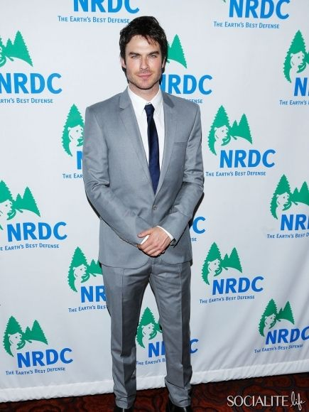 Ian Somerhalder Attends National Resources Defense Council Game Changer Awards