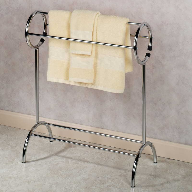 Towel Rack And Bathroom Storage