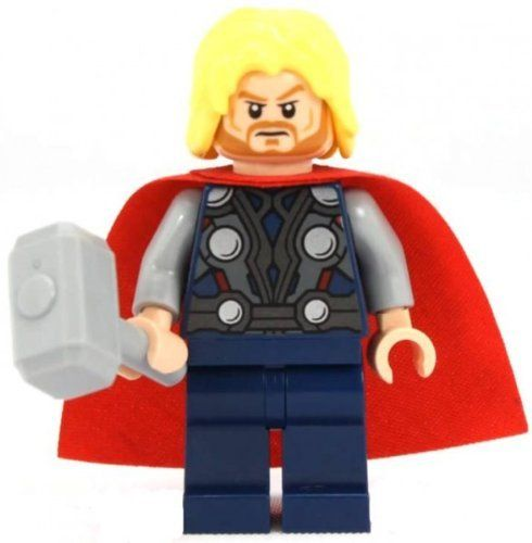 CAPTIAN AMERICA ☆ END GAME CUSTOM Mini☆Figure With THOR/'S HAMMER