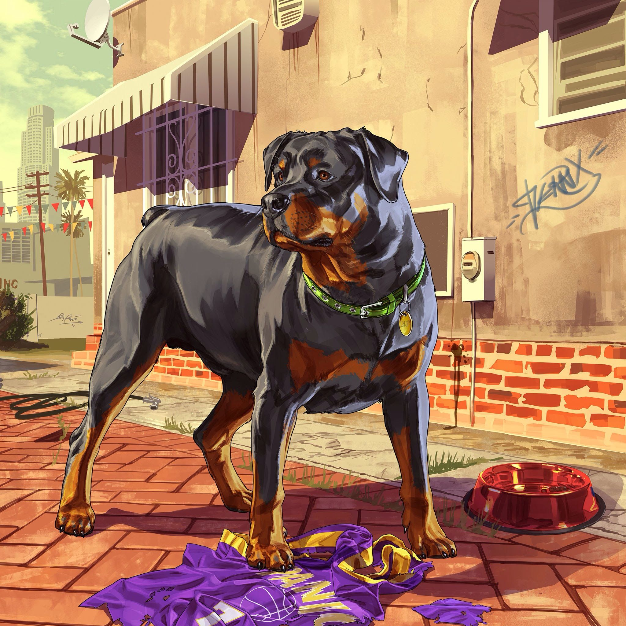 Pin By Aaron Viles On Video Game Series Rottweiler Gta Grand