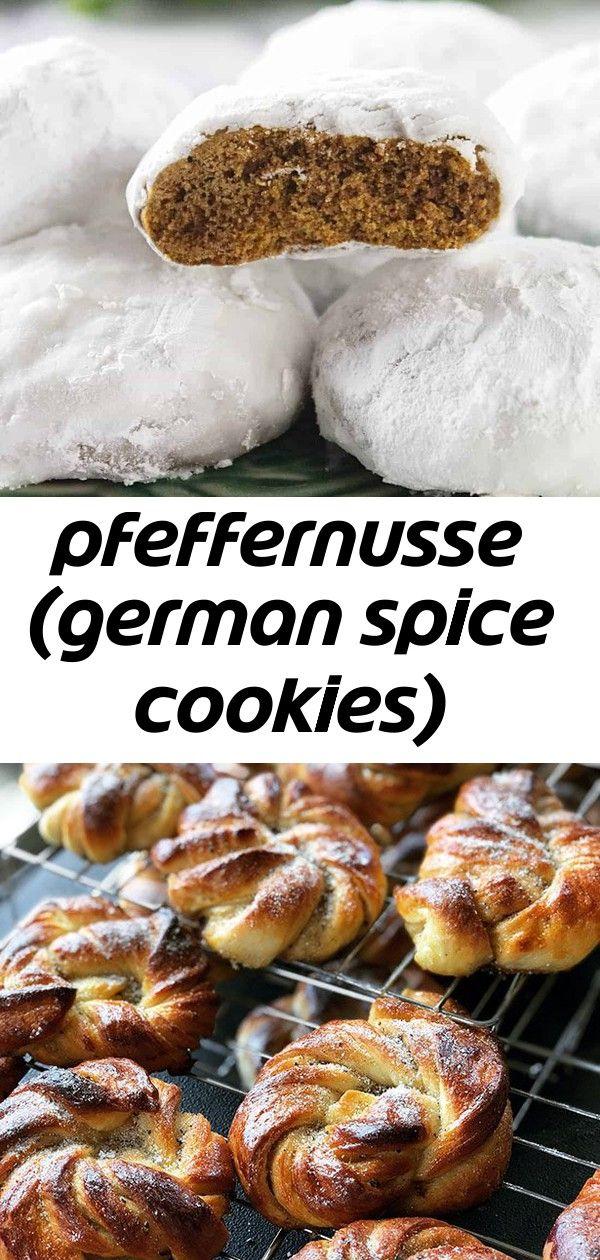 Pfeffernusse (german spice cookies) #cardamombuns