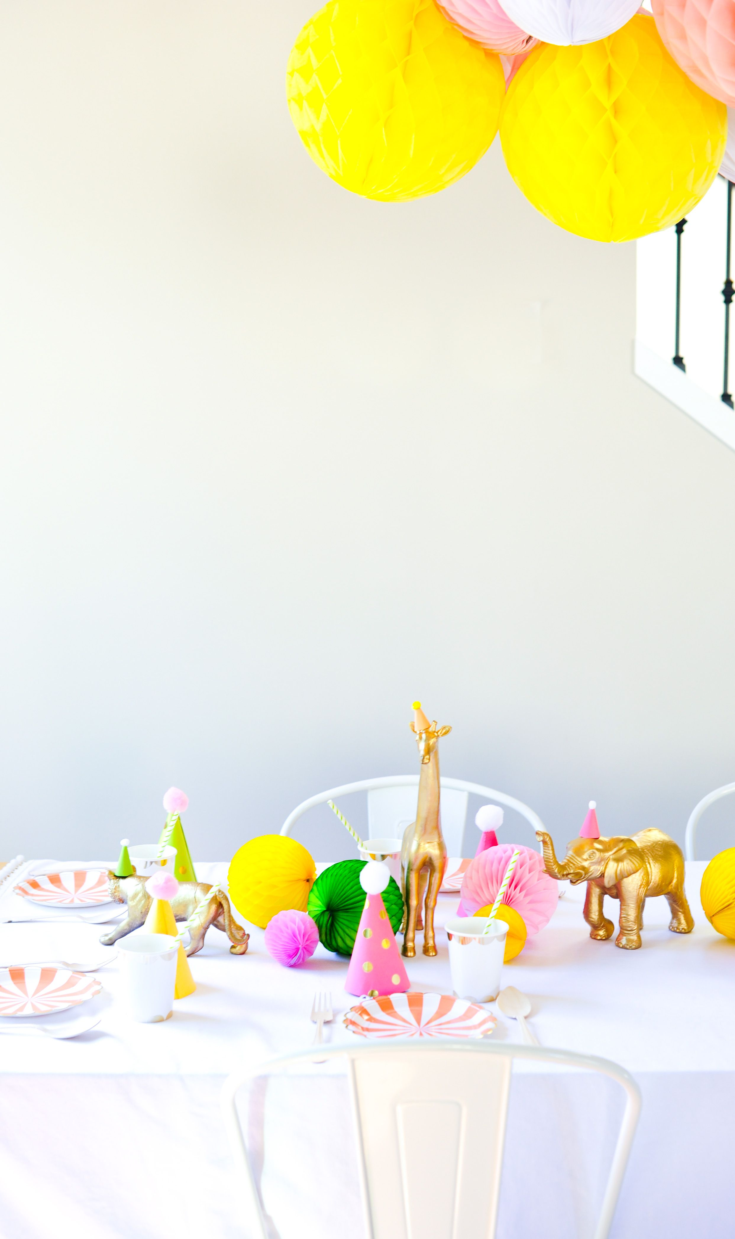 "♡ Fiesta : Kids birthday ideas: A ""Glanimal"" 4th Birthday 