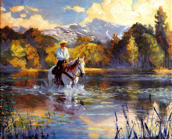 Cowboy And Native American Paintings For Sale Uk Art Uk