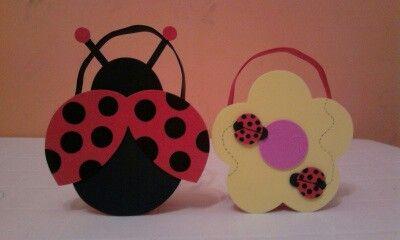 d7ccdd530 Bolsitas Bolsas De Golosinas, Bolsitas Para Cumpleaños, Centro De Mesa  Ladybug, Soporte Para