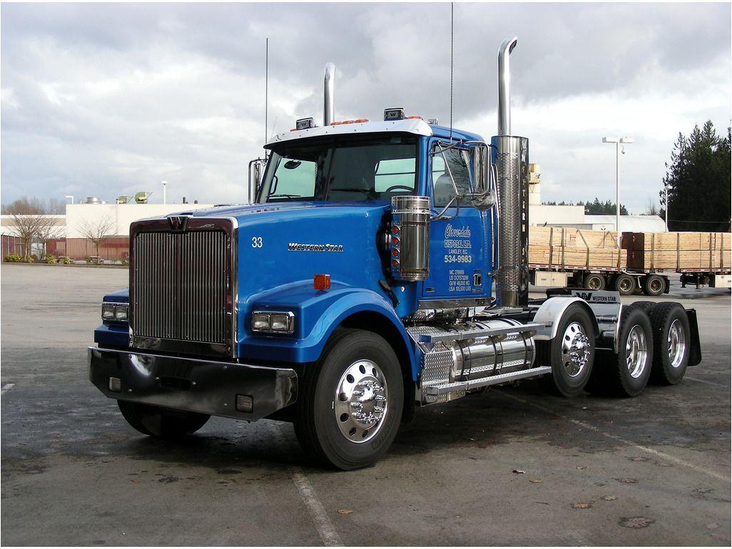 Western Star Custom Heavy Haul Western Star Trucks White Truck