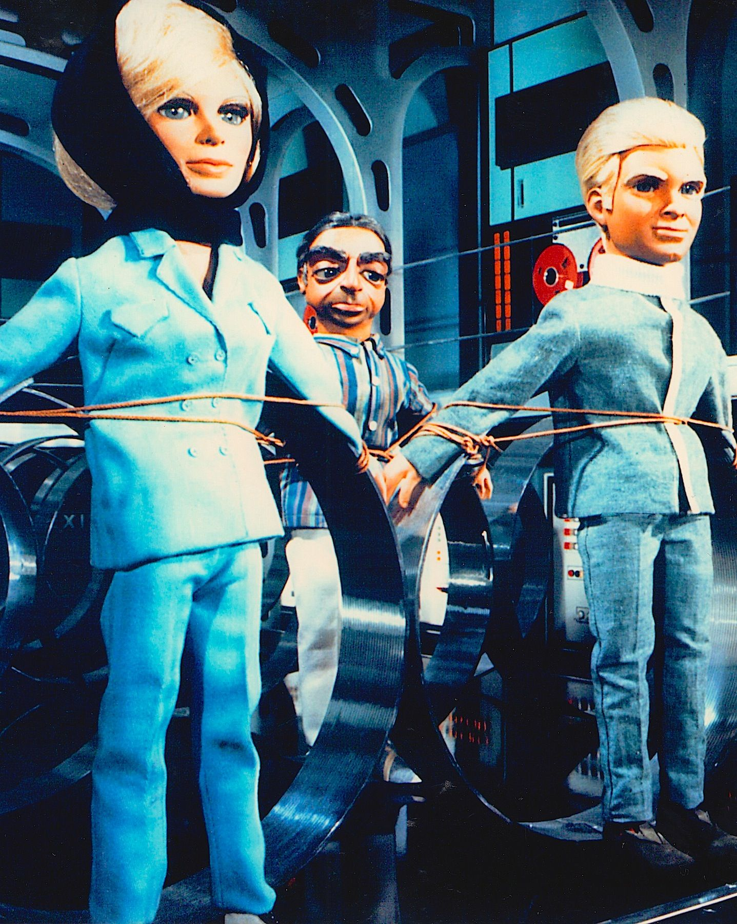 Lady Penelope is all tied up THE THUNDERBIRDS photo detail the