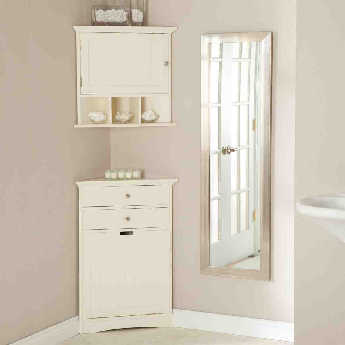 White Bathroom Corner Cabinet | Better white bathroom cabinet ...