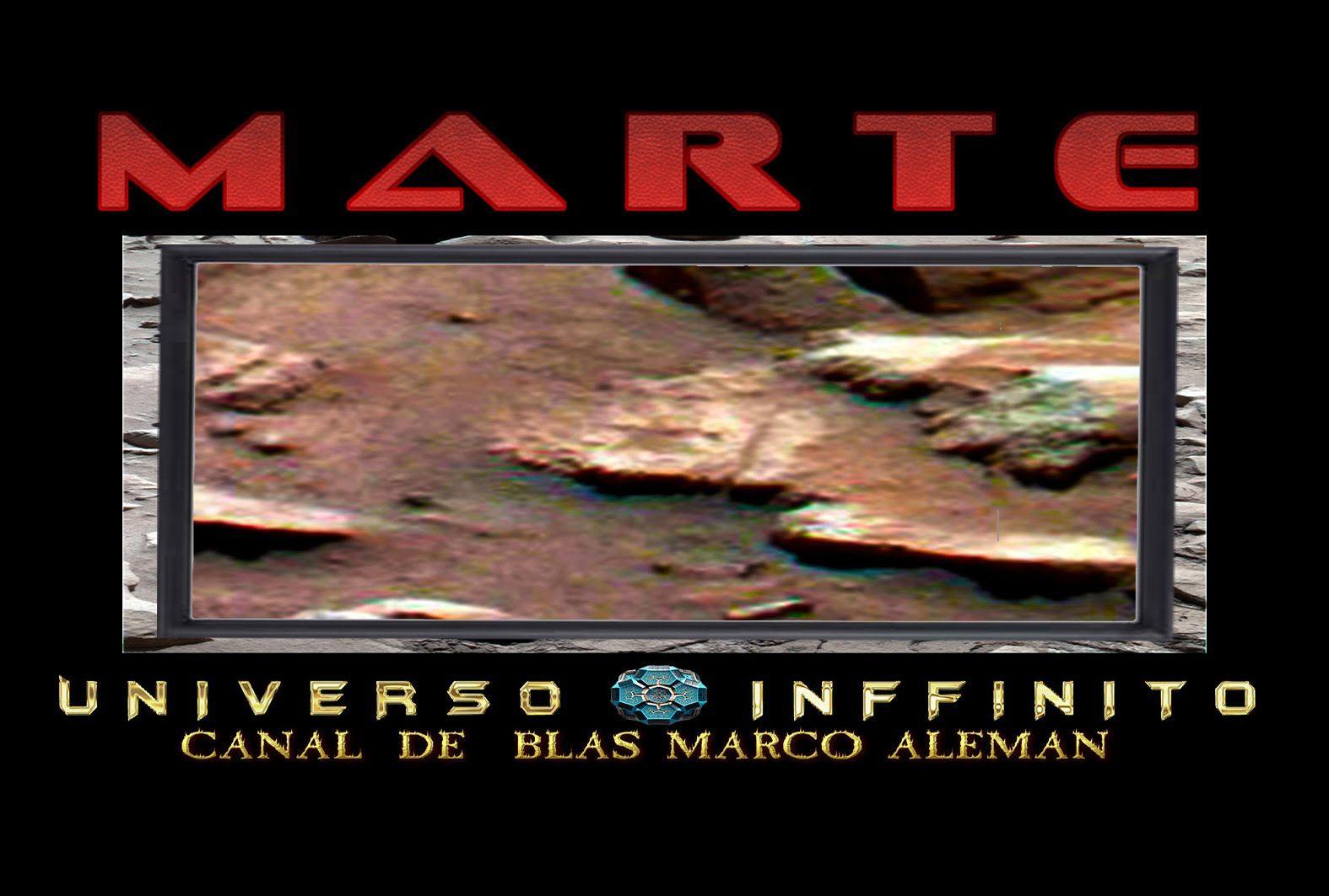 Nueva Imagen de Nasa muestra una Estrella de cinco puntas en MARTE/Rover...