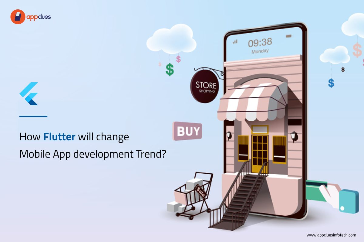 Flutter app development focuses on increasing the app's quality and