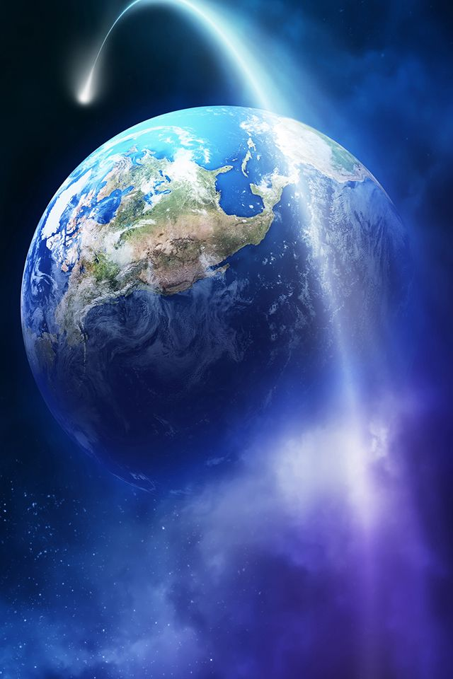 Earth Fantasy Wallpaper, earth universe iphone