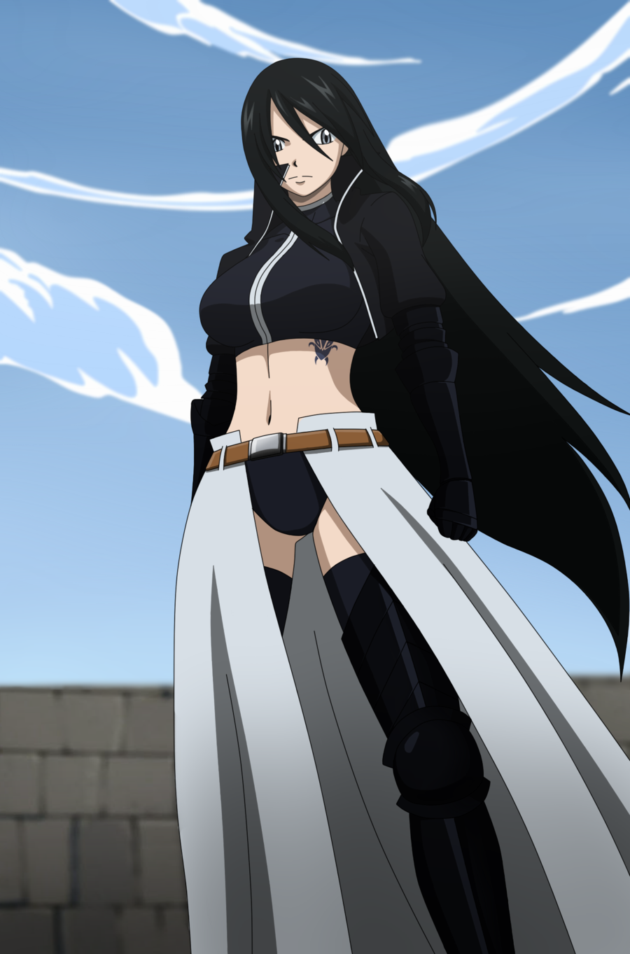 Fairy Tail Female OC with Gray x784 Fairy Tail OC by