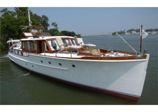1937 53 ft elco marine commuter yacht yachts boat boats motoryacht motoryachts. Black Bedroom Furniture Sets. Home Design Ideas
