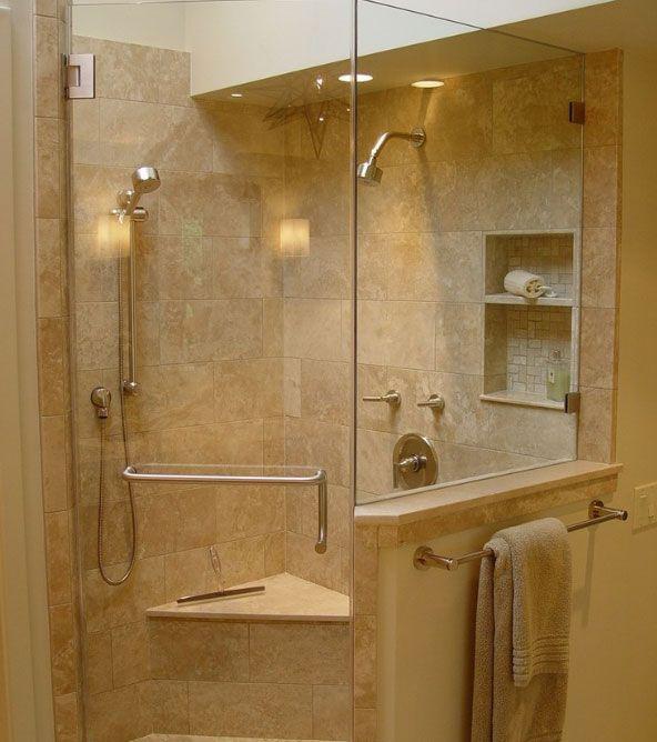 Dise o de duchas para ba os peque os buscar con google for Esquineras para banos