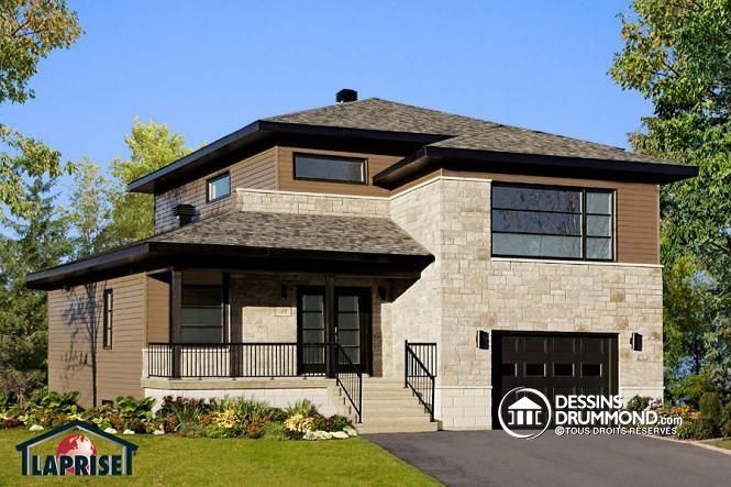 Vous tes la recherche d 39 une grande maison contemporaine for Mon plan de maison parfait