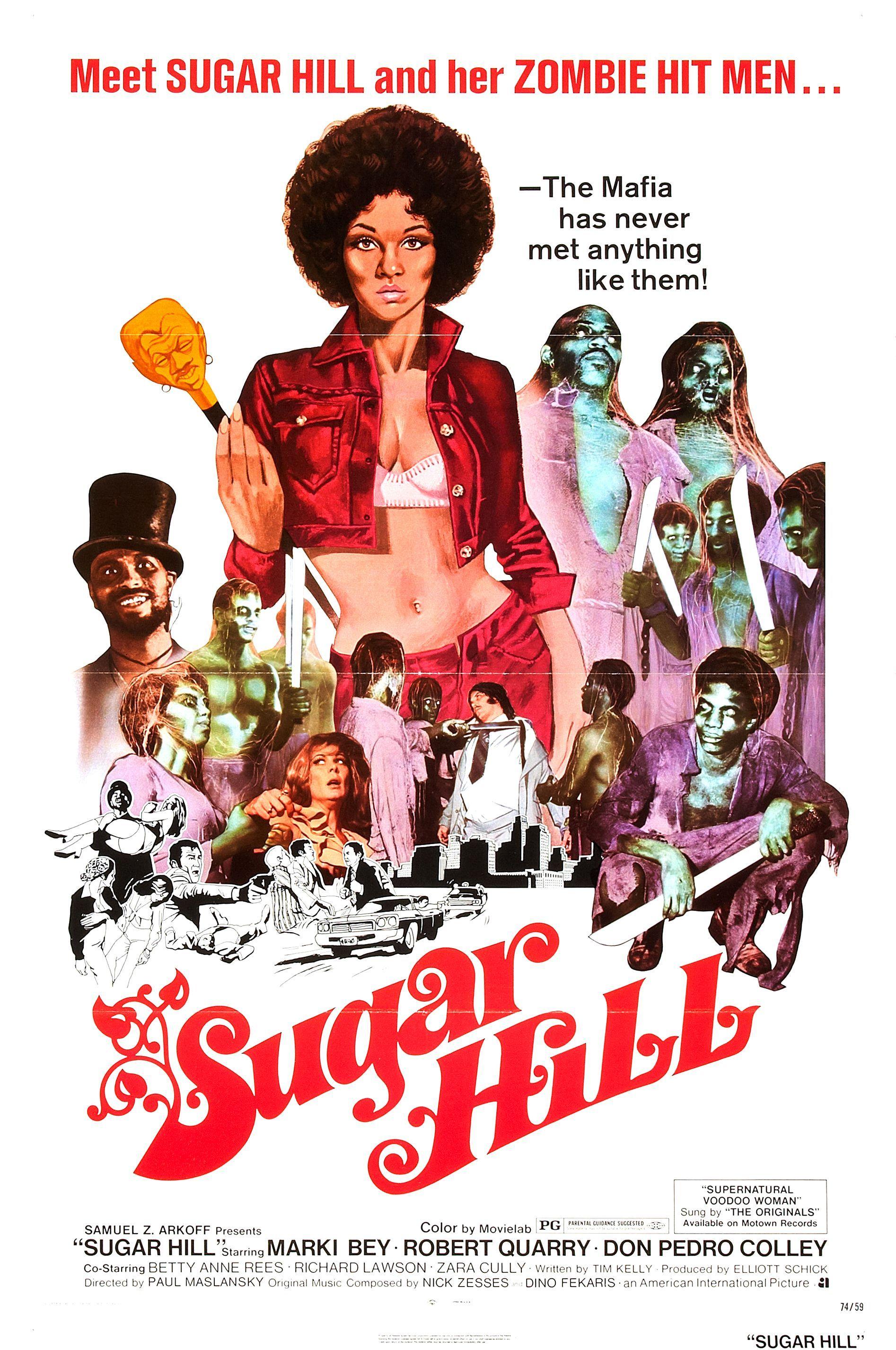 Sugar Hill 1974 Movie Posters Blaxploitation Film Classic Movie Posters