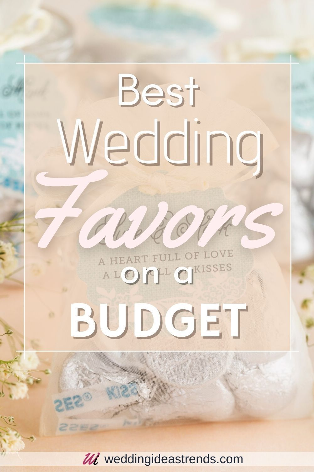 Best Wedding Favors On A Budget Wedding Gifts For Guests Under 1 In 2020 Best Wedding Favors Wedding Gift Favors Affordable Wedding Gift
