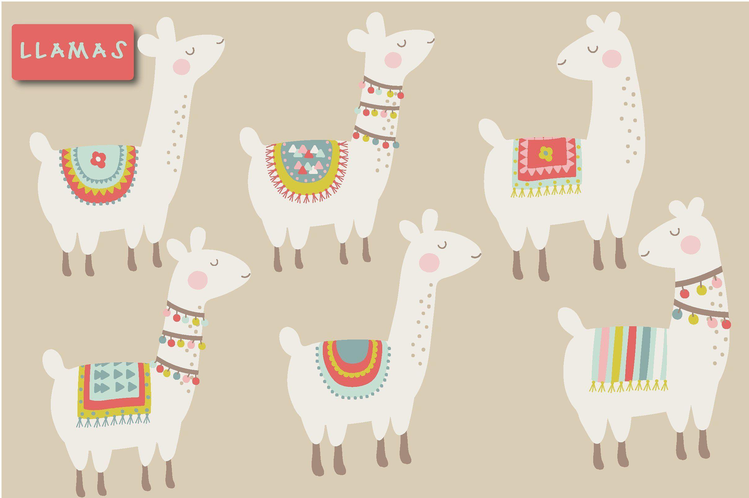 Cute llama clipart | Llama clipart, Cute llama, Llama drawing
