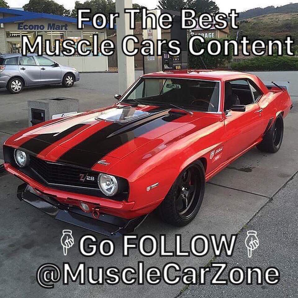 Follow Musclecarzone For The Best Muscle Cars Content