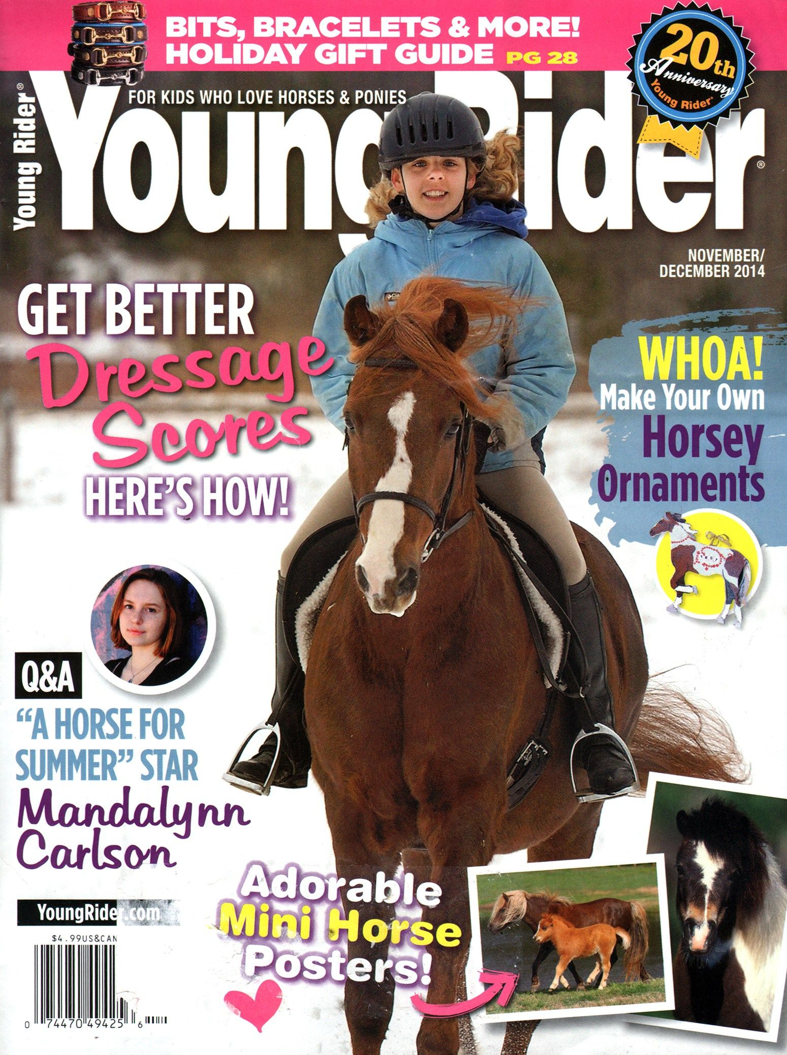 Young Rider Cover For 11 1