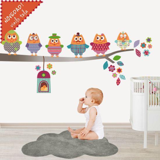 tu bebe vinilo infantil decoracion infantil habitacin infantil vinilos familia feliz pintar paredes tronco consultorio