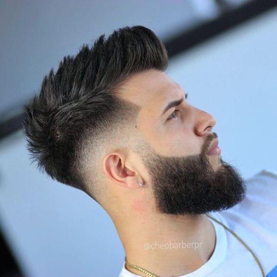 MEN & # 39; S Fade: 13 idées de coiffure Fade et quels bigoudis porter?   – Cortes de Cabelo Masculino – Men's Hairstyles