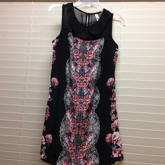 Floral Black dress NWOT great for any occasion...never worn Xhilaration Dresses Midi