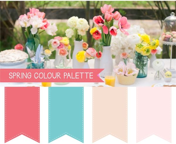 Spring Wedding Colour Palettes | Weddings | Pinterest | Spring ...