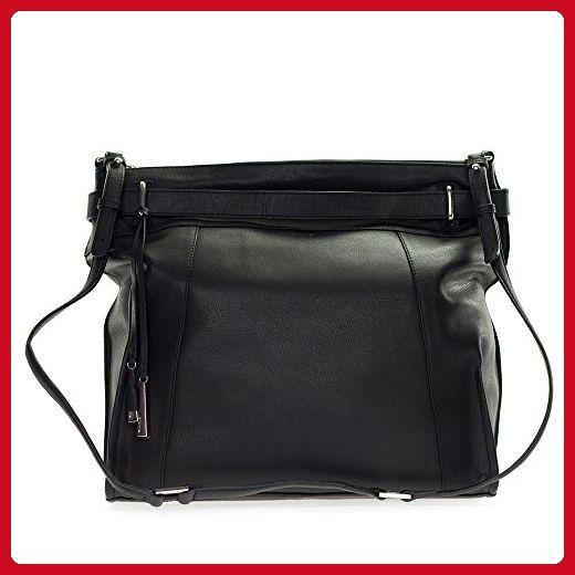 Cromia Italia Made Black Leather Large Carryall Satchel Shoulder Bag - Totes (*Amazon Partner-Link)