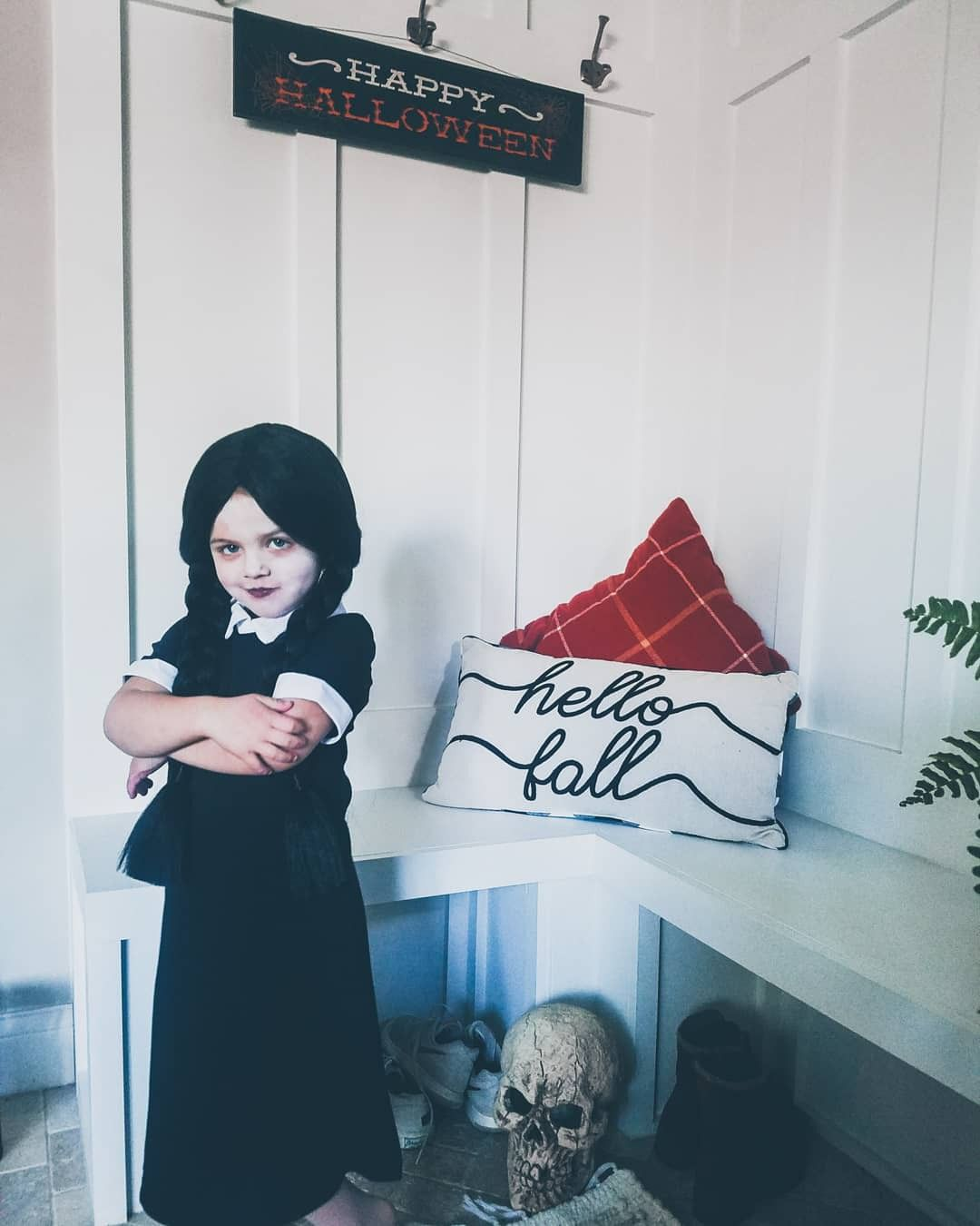Wednesday Addams Halloween Costume halloweencostume