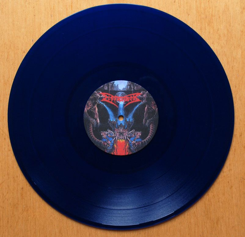Dismember Like An Everflowing Stream Blue Vinyl 12in Ch Vinyl Pics Music Music Instruments Musicals