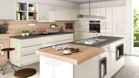mit dunkler arbeitsplatte. | schüller küchen, küche