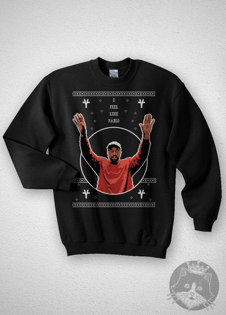 Kanye West - Pablo - Ugly Christmas Sweater | kanye west | Pinterest ...