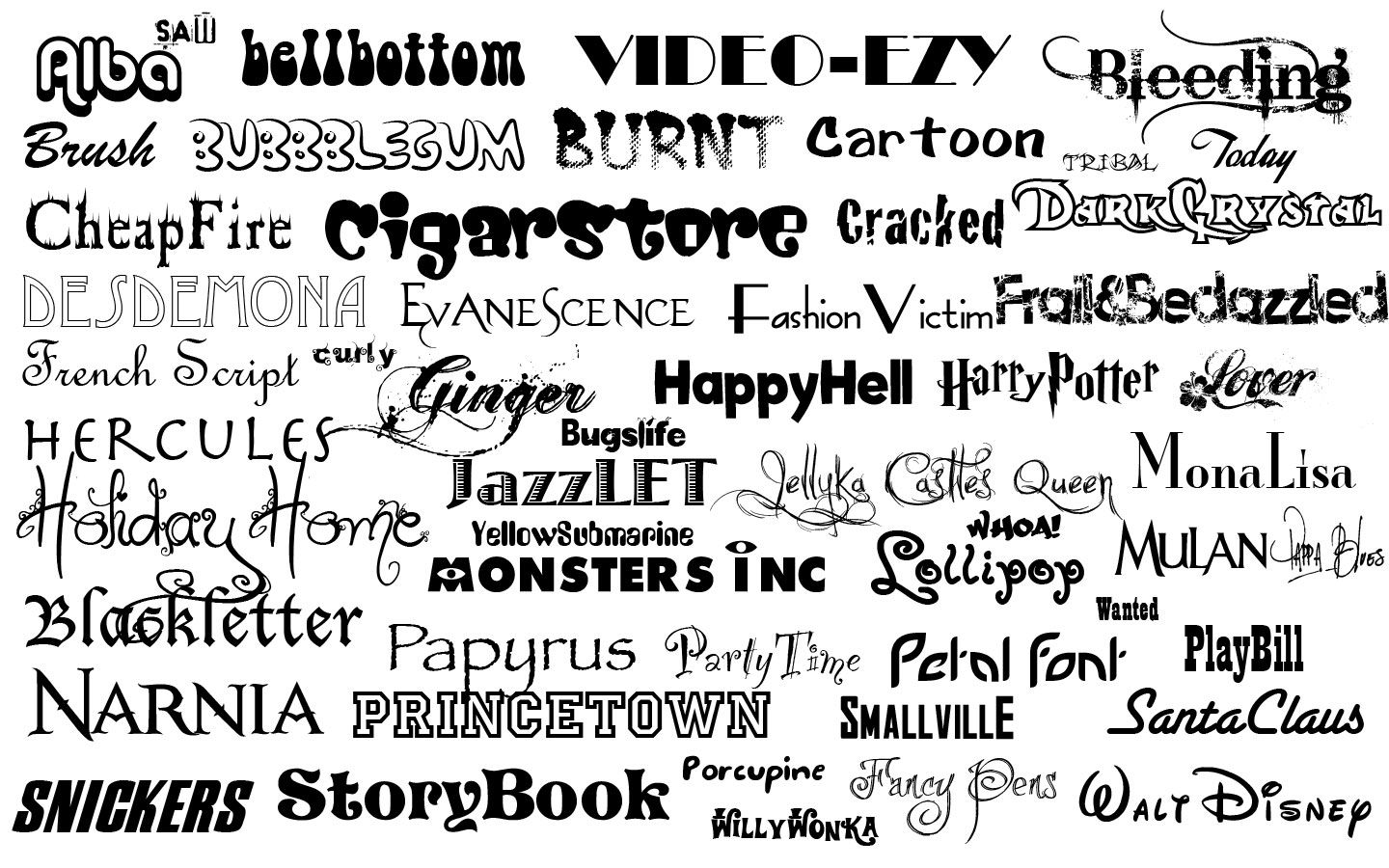Its An Interesting Phenomena How Different Fonts Evoke Different