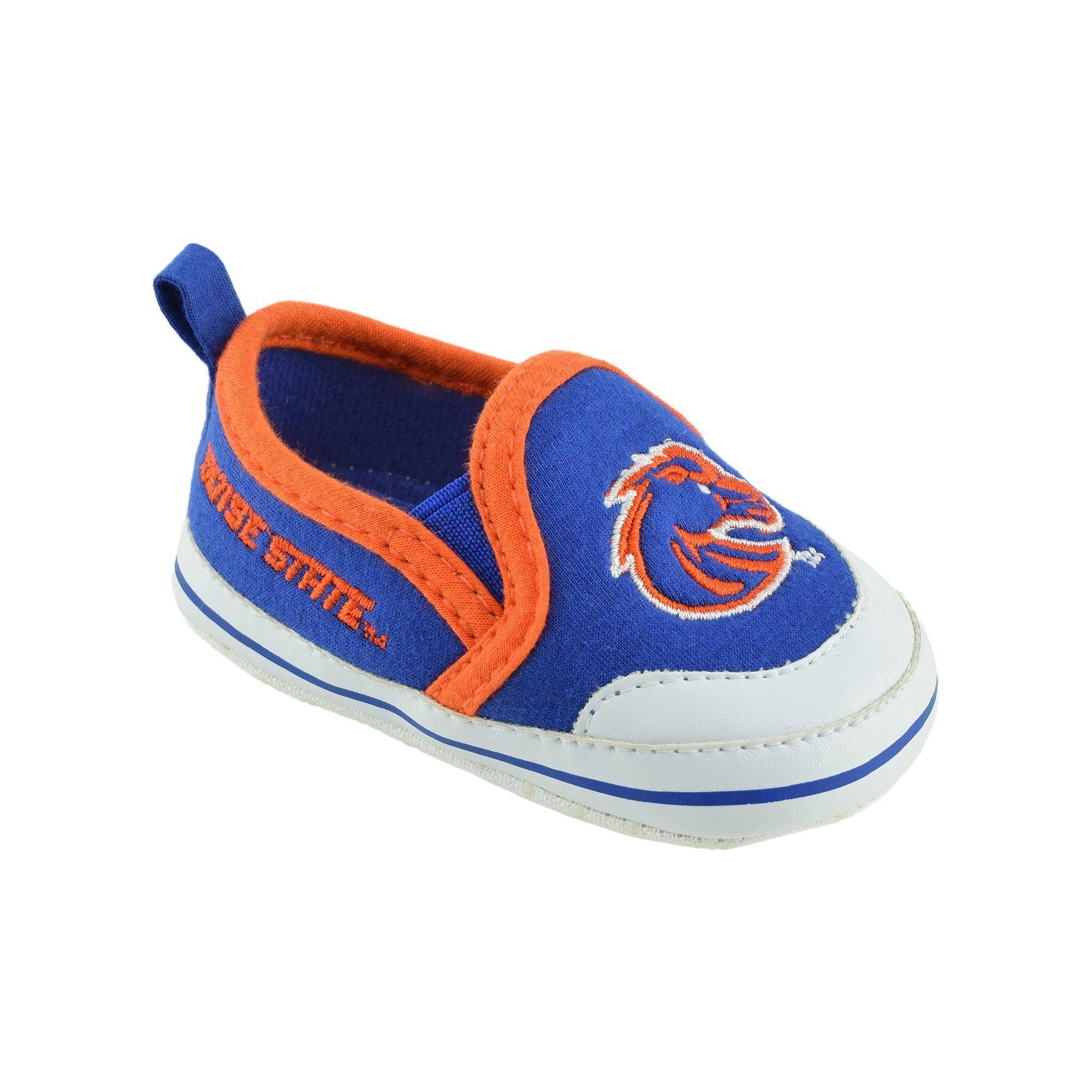 Baby Boise State Broncos Crib Shoes Infant Uni Size 9 12