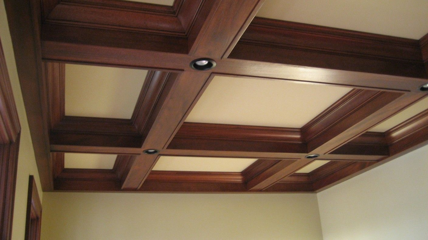 coffered ceiling lighting. Coffered Ceiling Designs | Ceilings Are False Beams In Squares Or Rectangles With Crown . Lighting