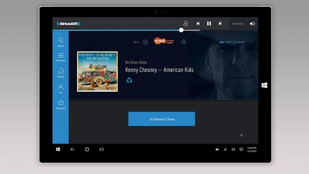 SiriusXM app for Windows 10 PC released Ultra street