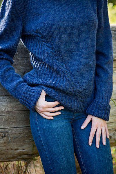 Seilbahn Pullover – Strickmuster und Häkelanleitungen von KnitPicks ...